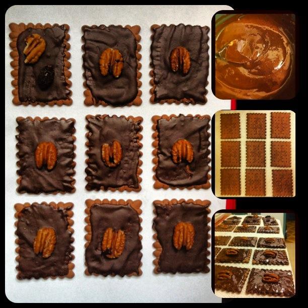 ביסקוויטים בשוקולד - השוחטת הטבעונית