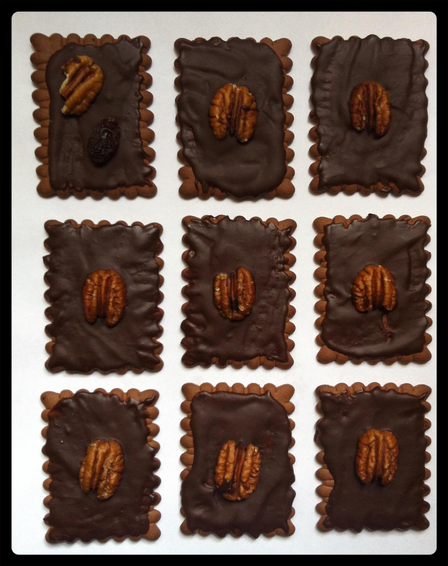 ביסקוויטים בשוקולד - עוגיות טבעוניות מהירות מתכונים טבעוניים השוחטת הטבעונית יעלי שוחט