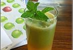 מיץ ירוק בריא של יעלי שוחט