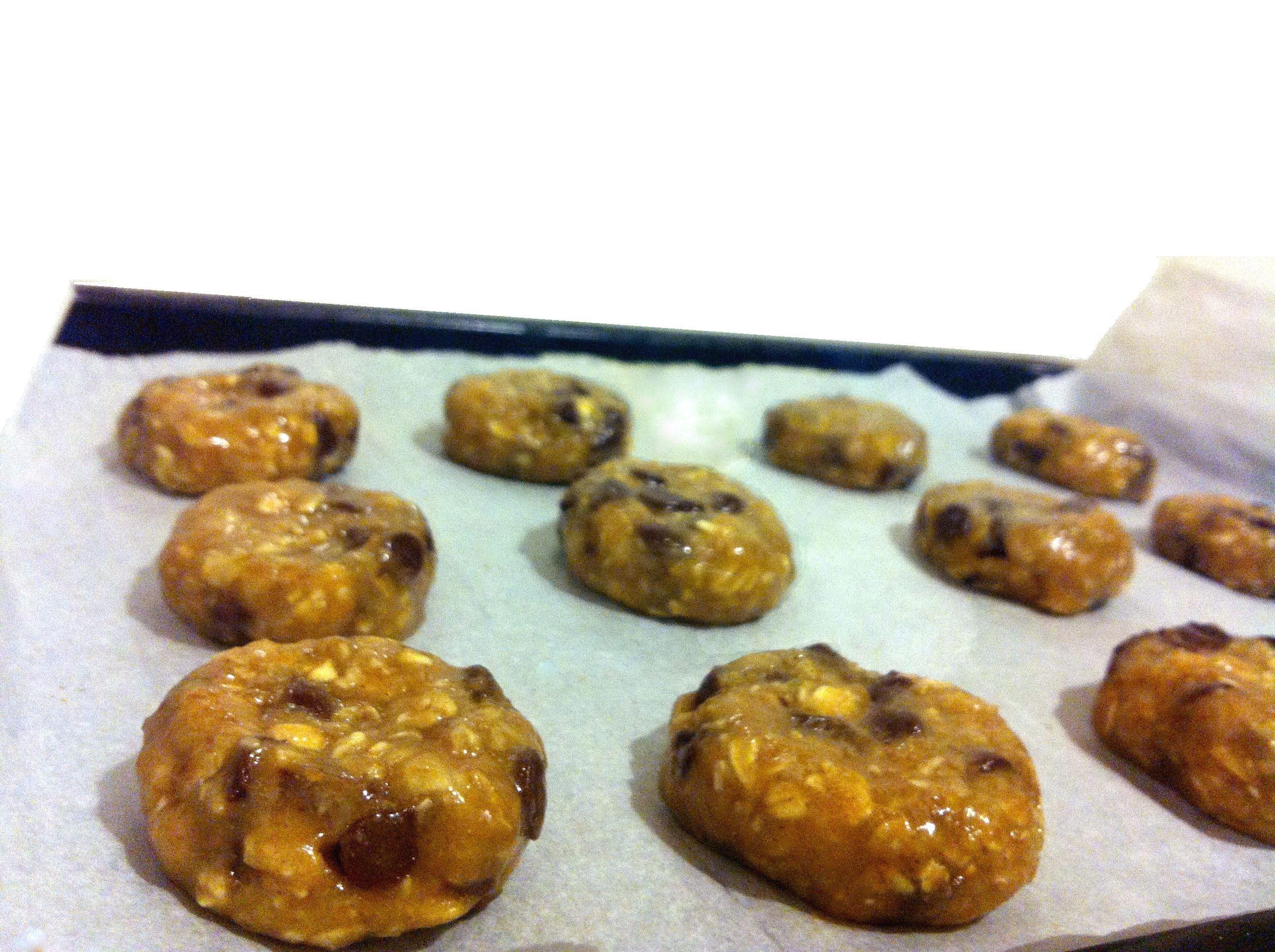 עוגיות שוקולד צ'יפס ושיבולת שועל מושלמות - מתכונים טבעוניים