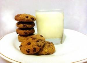 עוגיות שוקולד צ'יפס - שיבולת שועל מושלמות