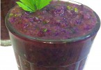 שייק עלים סגול בריא טבעוני