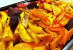 מתכון טבעוני ירקות צלויים בתנור מתכונים של השוחטת הטבעונית יעלי שוחט