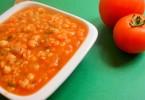 מרק עגבניות אורז חומוס מרק טבעוני סבתא יהודית מרקים טבעוניים מתכונים טבעוניים באתר השוחטת הטבעונית - יעלי שוחט http://veganslaughterer.co.il